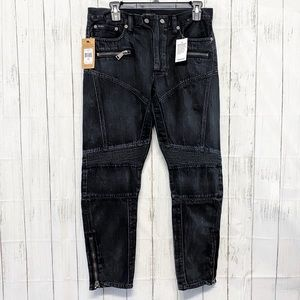 NWT Polo Ralph Lauren Black Moro Jeans - 28